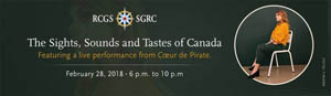 Sights, Sounds, and Tastes of Canada Event
