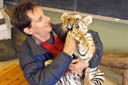 Hands On With a Baby Tiger and Other Animals - Orono, Canada